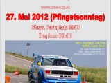Plakat Autoslalom 2012