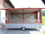 Verkaufswagen von der Seite